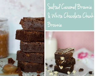 Bowl and Whisk | Artisan and Wedding Cakes | Browniesd Mixed Box Small